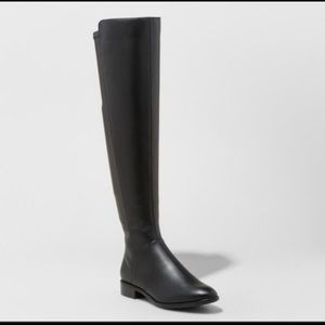 Target A New Day black knee high boots 8.5